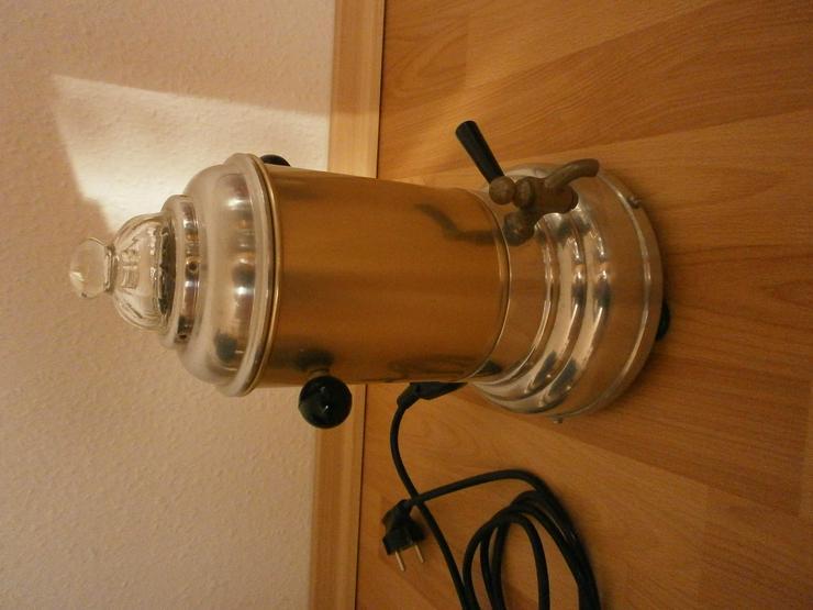 TOP Original alter Aromator Kaffeemaschine Teekocher- Samowar VEB