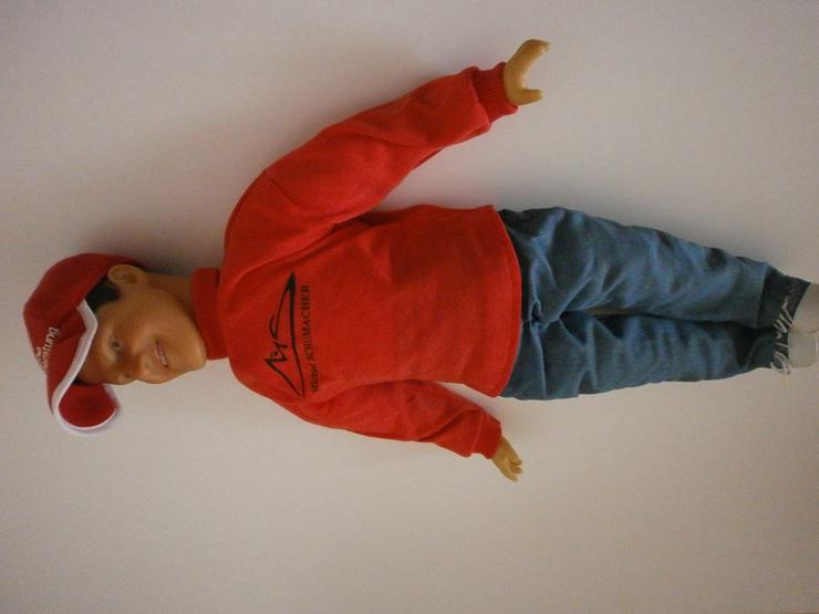 Biete Michael Schumacher-Puppe an NEU NAGEL NEU