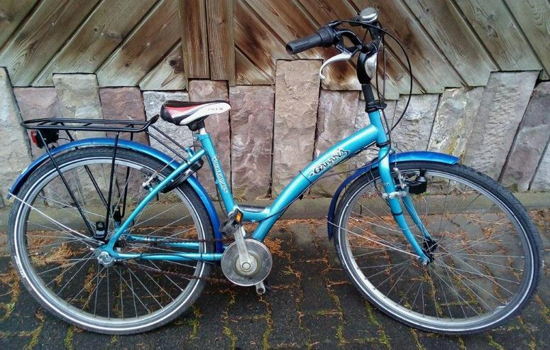 Damenrad 26 zoll ,3 Gang-Nabenschaltung .Rahmenhöhe 43cm