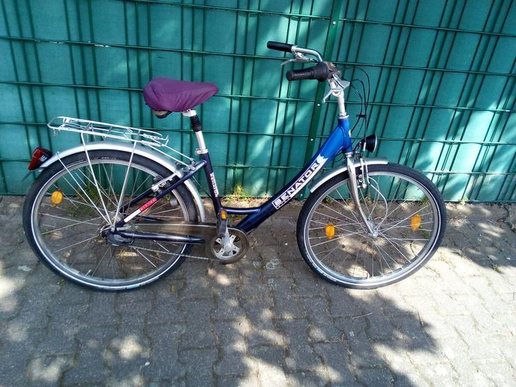 Damenrad 26 zoll ,3 Gang-Nabenschaltung .Rahmenhöhe 43cm.