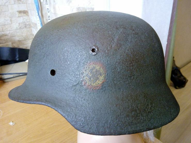Stahlhelm M35 SS aus Wk2