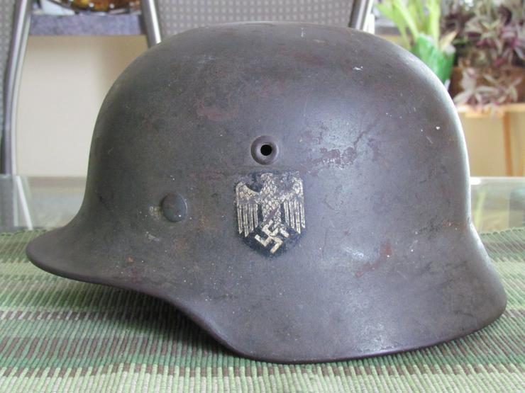 Stahlhelm M40 Wehrmacht aus Wk2