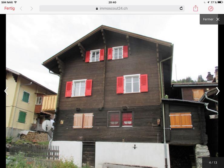 Oberwallis, Region Visp Haus im Haus 156qm  5,5Zimmer total saniert - Haus kaufen - Bild 1