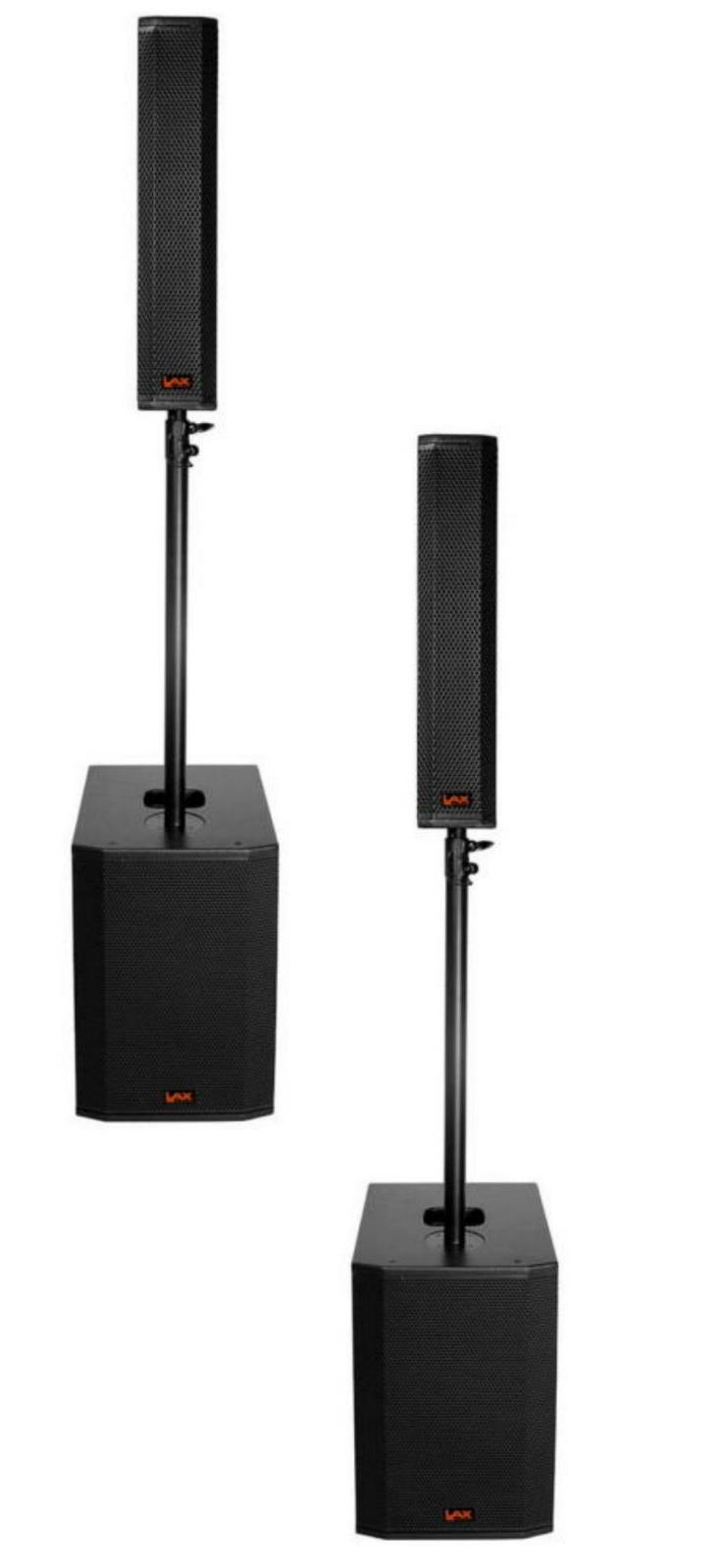 """LAX AGILI-T Pro Kompaktpaket bestehend aus zwei 12"""" Bässen und zwei 4x4"""" Tops"""