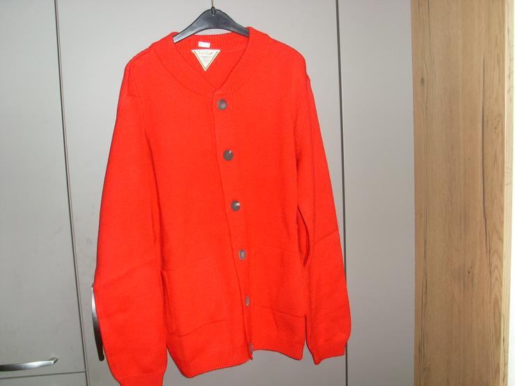 NEU: Damen Strickweste in rot Gr. L von Bonprix