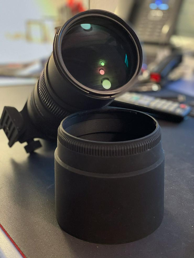 Sigma 150-500/5.0-6.3 DG APO RF OS HSM für Nikon F - TOP Zustand