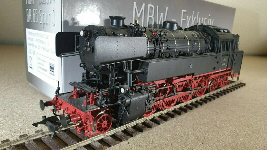 Bild 5: MBW 65018 Spur 0 DB Dampflok BR 65 Betr.-Nr. BR 65 018