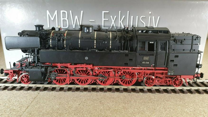 Bild 4: MBW 65018 Spur 0 DB Dampflok BR 65 Betr.-Nr. BR 65 018