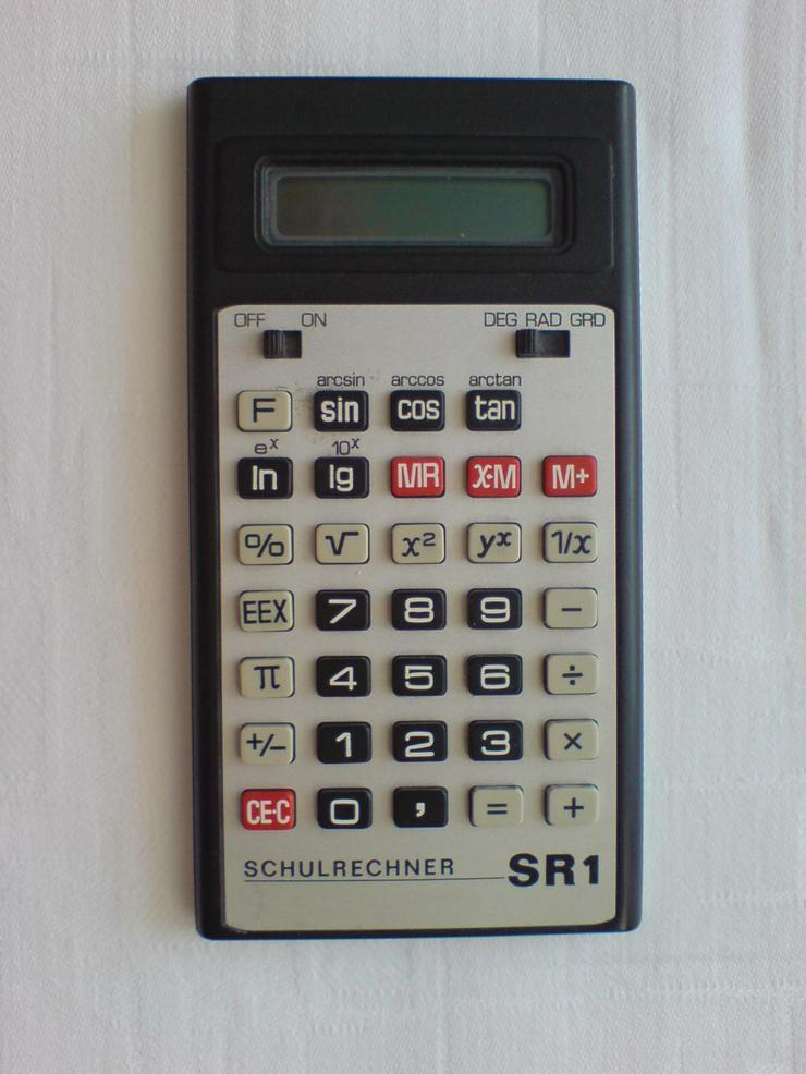 Taschenrechner Schulrechner SR 1