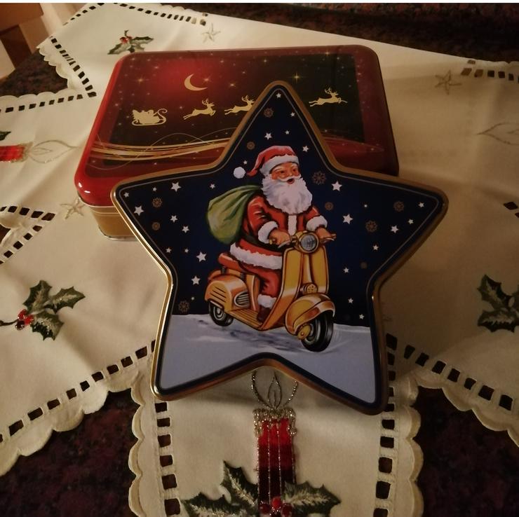 Weihnachtliche Pralinen-/Keksdose