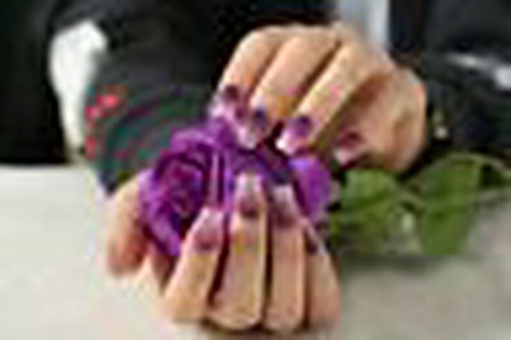 Bild 3: Nagelfolie ,Nageldesign , künstliche Nägel , Nailart, Gelnägel