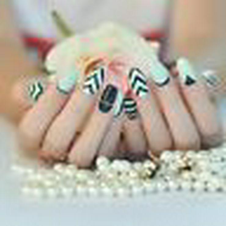 Bild 2: Nagelfolie ,Nageldesign , künstliche Nägel , Nailart, Gelnägel