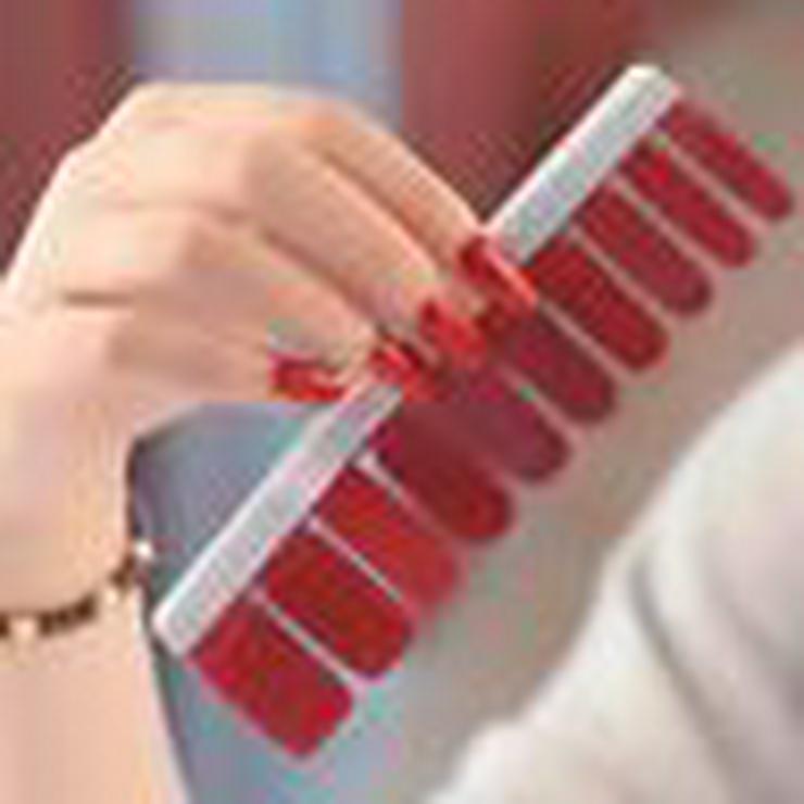 Bild 5: Nagelfolie ,Nageldesign , künstliche Nägel , Nailart, Gelnägel