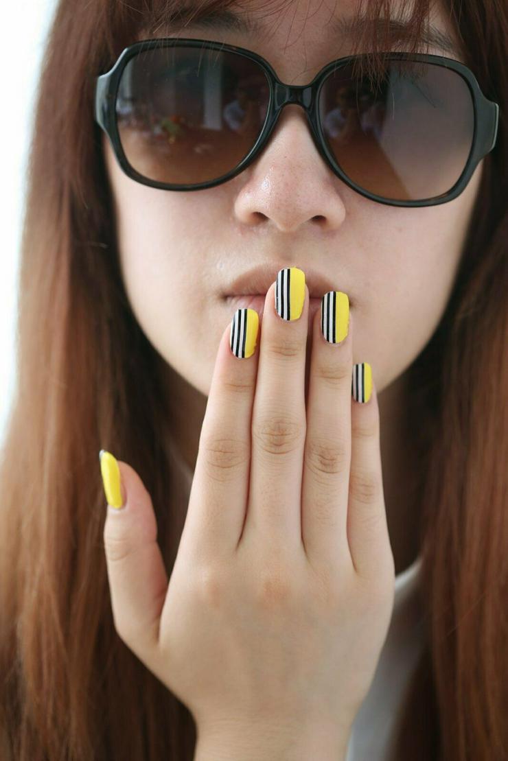 Bild 4: Nagelfolie ,Nageldesign , künstliche Nägel , Nailart, Gelnägel