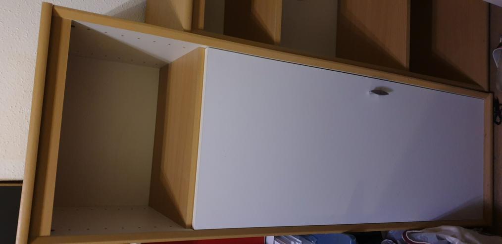 Regal Wohnzimmer mit Tür - Schränke & Regale - Bild 1