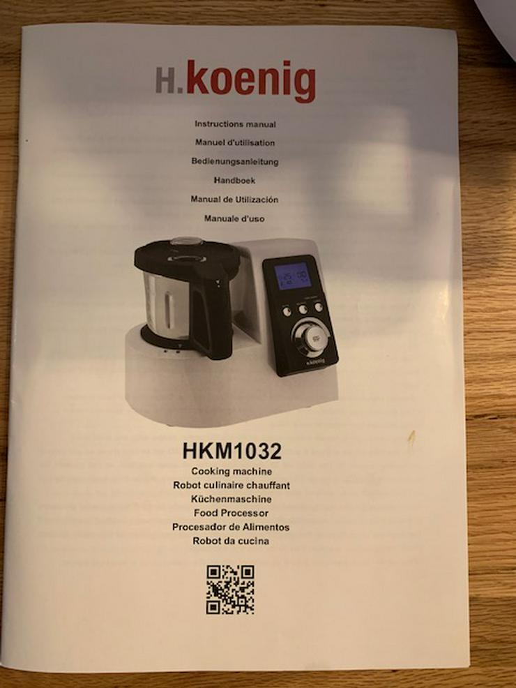 Bild 2: H. Koenig HKM 1032 Küchenmaschine mit Kochfunktion