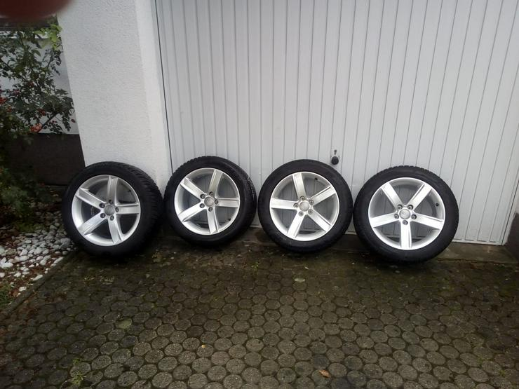 Original Dunlop 17 Zoll Winterkomplettradsatz 8T0071497  225 / 50 R17 Winter