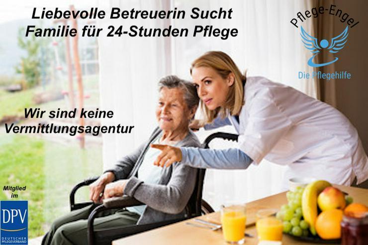 Pflegehilfe in einer 24-Stunden-Betreuung - Pflege & Betreuung - Bild 1