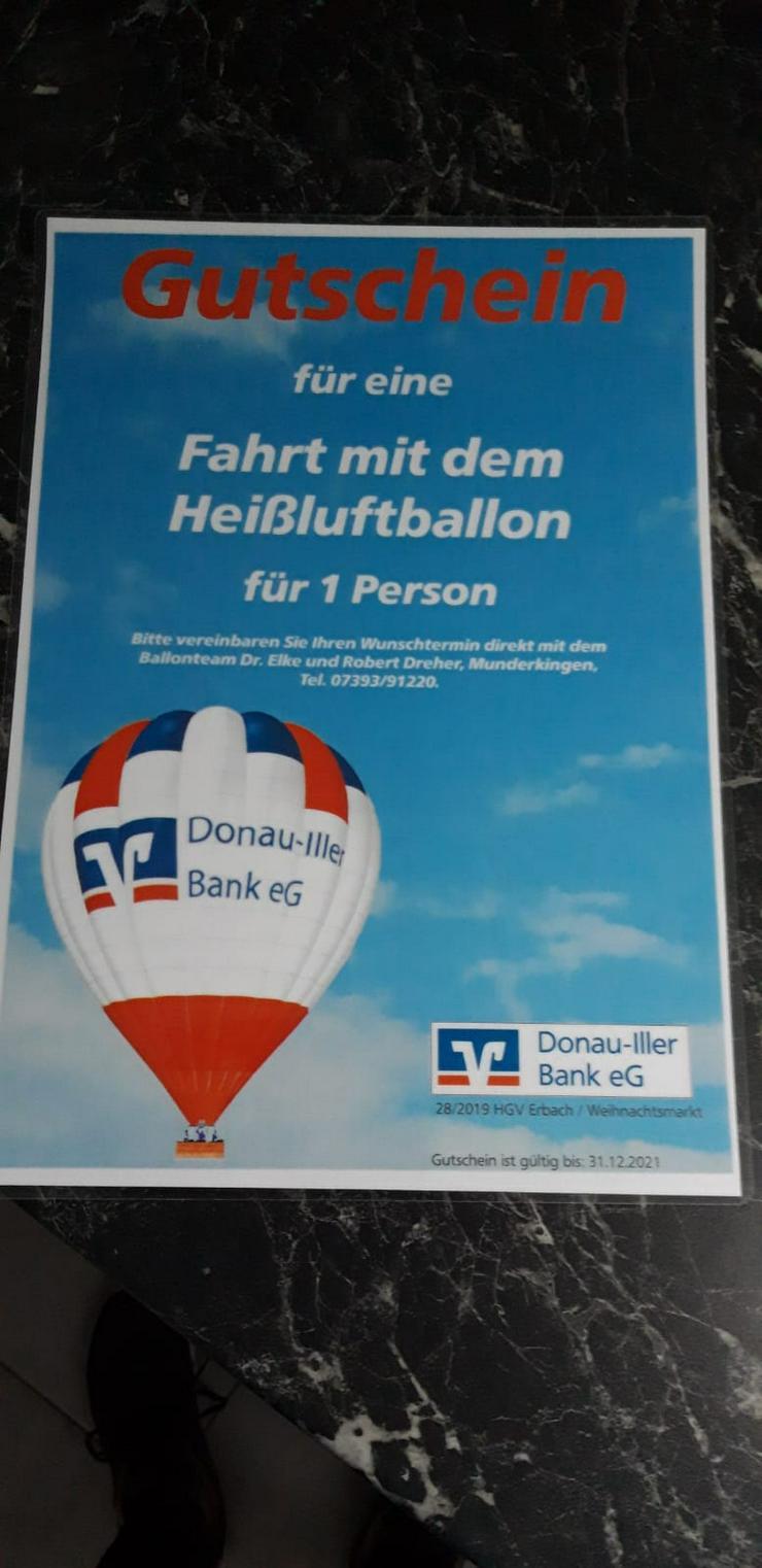Luftballon Fahrt