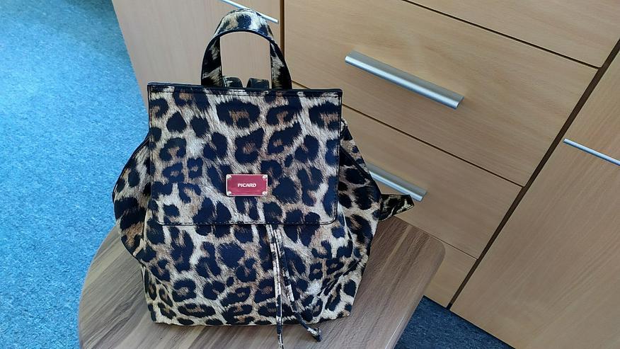 PICARD Markenqualität – City-Rucksack mit Leopard-Look!