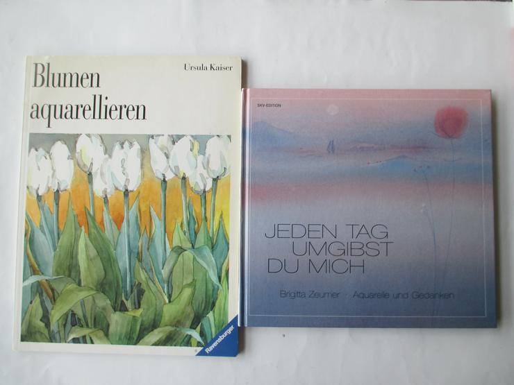 Bild 3: Bücher zu Malerei und Zeichnen