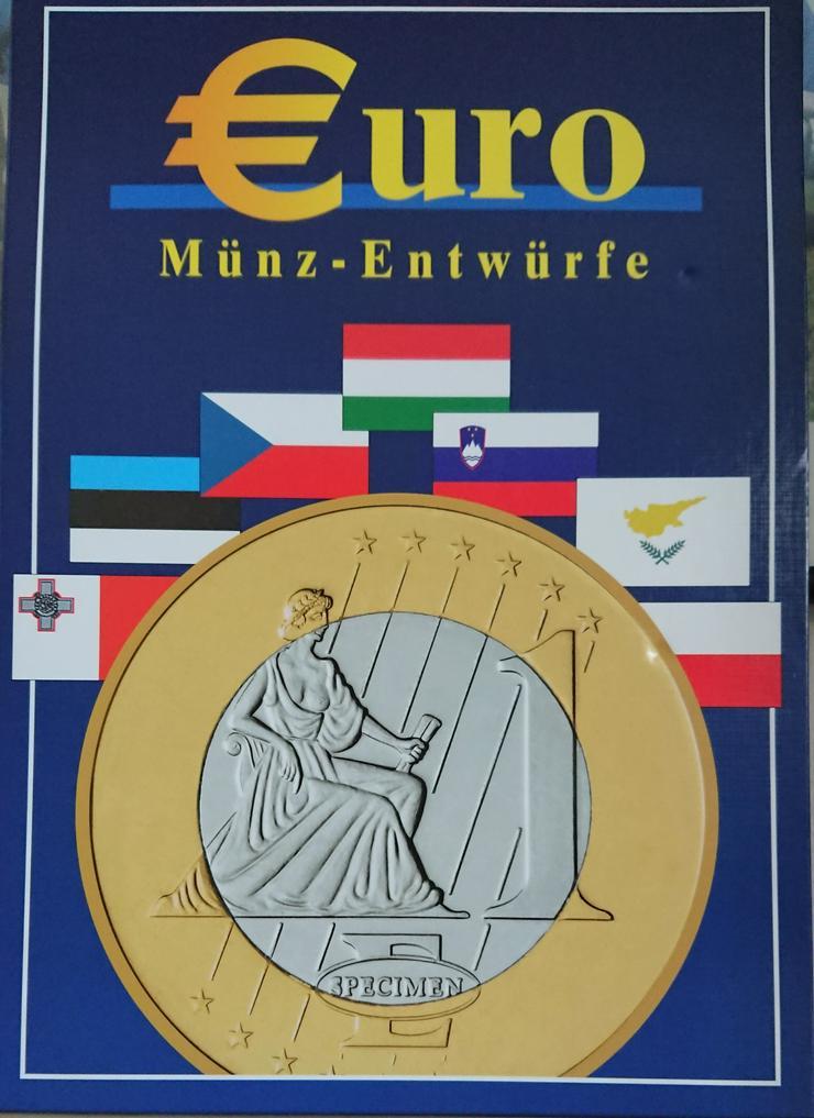 Sonderprägungen der EURO-Münzentwürfe  CZ / PL / HU / SI / CY