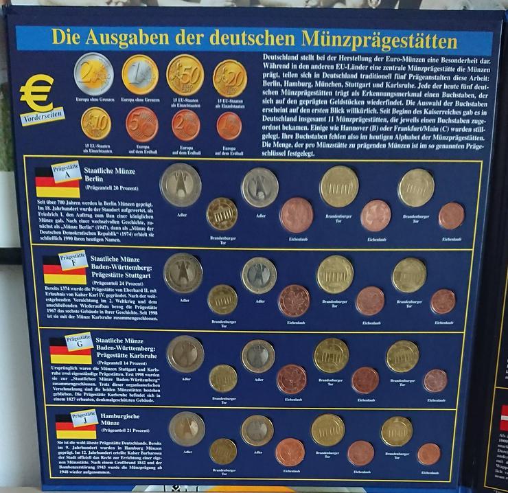 Sonderprägungen der EURO-Münzentwürfe  GB / S /DK und Ausgaben der Deutschen Münzprägestätten - Euros - Bild 3