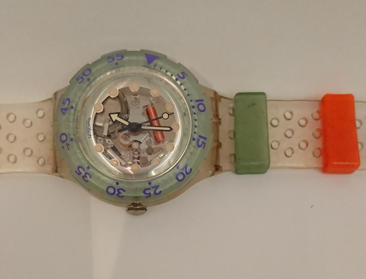 Bild 3: Swatch Scuba 200 Jelly Bubbles SDK104 - 1992