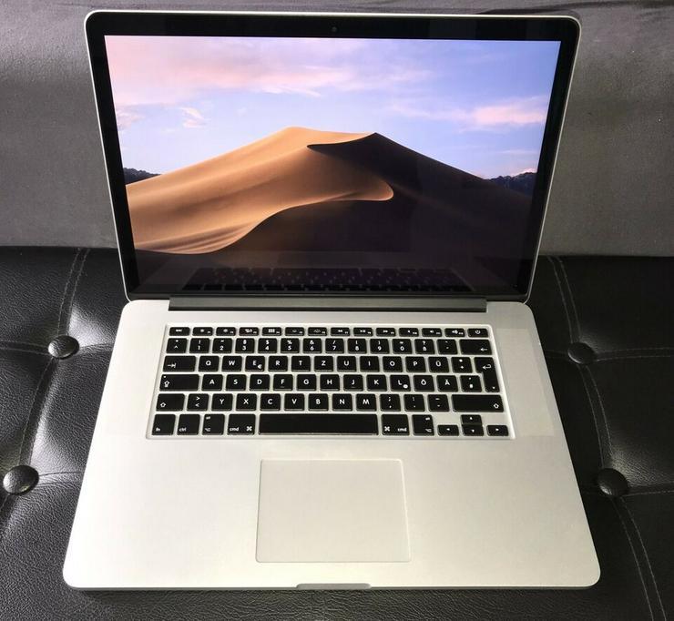 Biete ein Apple MacBook Pro Retina 15 Mitte 2015