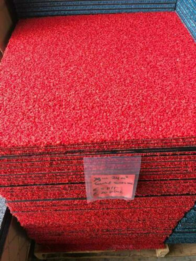24m2 Touch & Tones 102 Red Neue Teppichfliesen von Interface