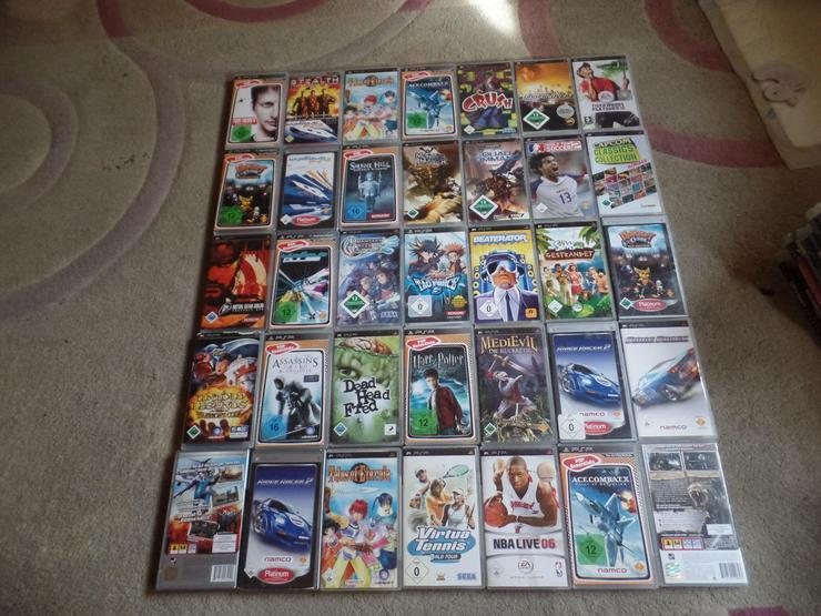 PSP Spielen Verkaufe PSP 35 STÜK ALLES KOMPLET VERKAUFEN