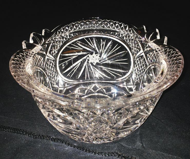 Bild 2: Kristall Schale (FP) noch 1 x Preis runter gesetzt !