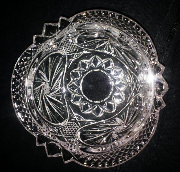 Bild 3: Kristall Schale (FP) noch 1 x Preis runter gesetzt !