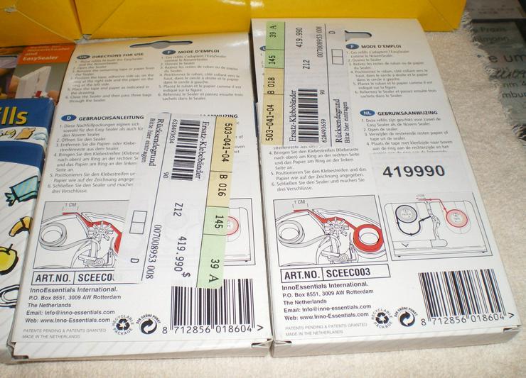 Bild 3: Brotbeutel und andere Dinge Verschlussgerät (FP) noch 1 x Preis runter gesetzt !