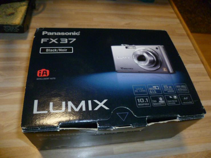 Digitalkamera Kamera Lumix FX 37 Viel Zubehör Nr. 50