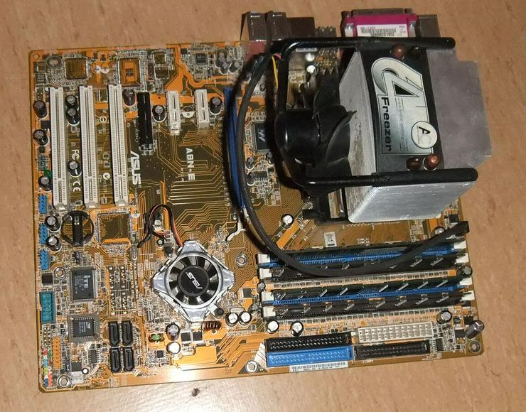 PC Mainboard, Motherboard - ASUS A8N-E, AMD Athlon 64, DDR Ram