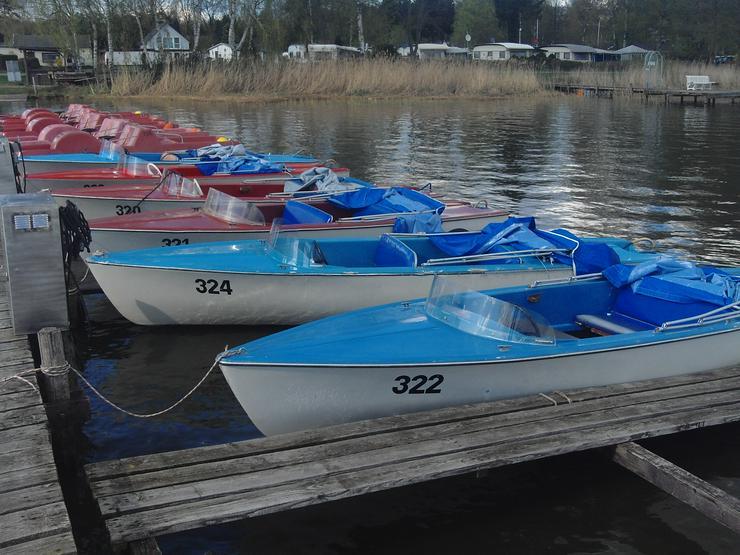 Bild 4: Bootsverleih Kielhorn / Steg n 21 3 Std. Elektroboot fahren Steinhuder Meer in Mardorf