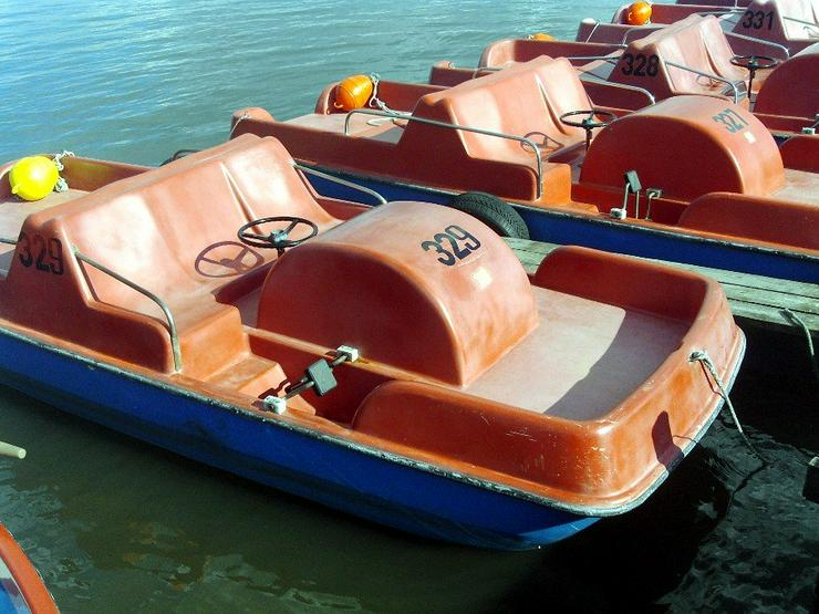 Bootsverleih Kielhorn / Steg N 21 1 Std. Tretboot fahren in Mardorf am Steinhuder Meer