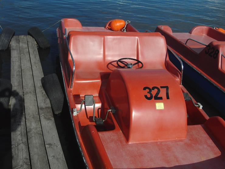 Bild 3: Bootsverleih Kielhorn / Steg N 21 1 Std. Tretboot fahren in Mardorf am Steinhuder Meer