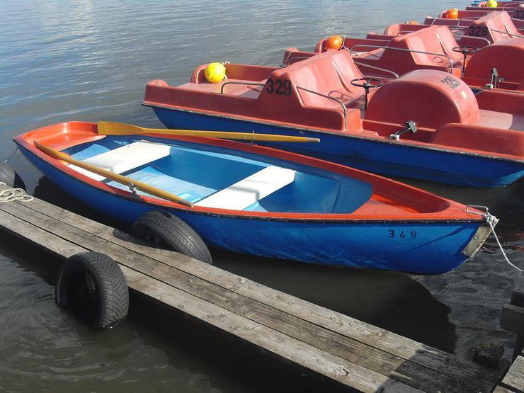 Bootsverleih Kielhorn / Steg  N 21 3 Std. Ruderboot fahren in Mardorf am Steinhuder Meer