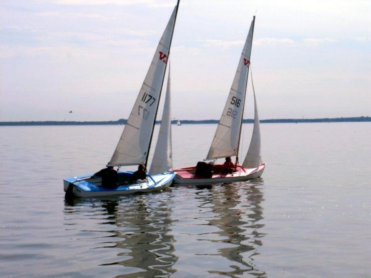 Bootsverleih Kielhorn / Steg N 21 1 Tag VB Jolle segeln auf dem Stenhuder Meer