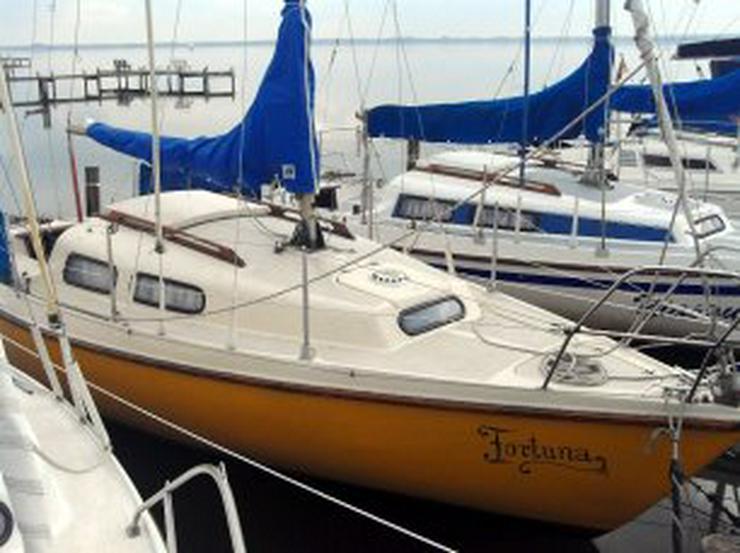 Bild 5: Bootsverleih Kielhorn / Steg N 21 3 Std. Neptun 22 segeln in Mardorf auf dem Steinhuder Meer