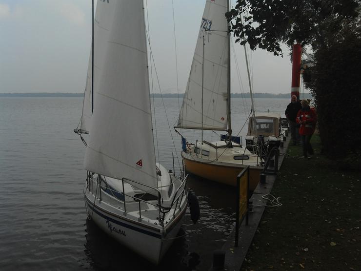 Bild 2: Bootsverleih Kielhorn / Steg N 21 3 Std. Neptun 22 segeln in Mardorf auf dem Steinhuder Meer