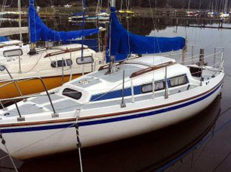 Bild 3: Bootsverleih Kielhorn / Steg N 21 3 Std. Neptun 22 segeln in Mardorf auf dem Steinhuder Meer