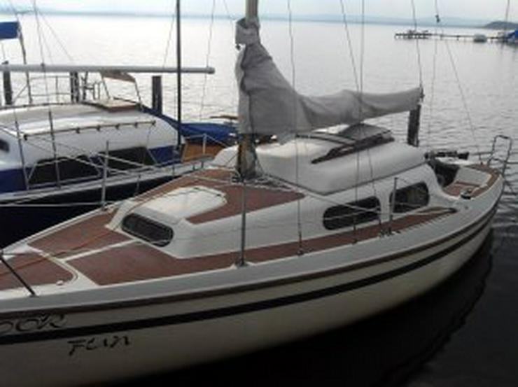 Bild 6: Bootsverleih Kielhorn / Steg N 21 Geschenkgutschein 1 Tag Neptun 22 segeln auf dem Steinhuder Meer