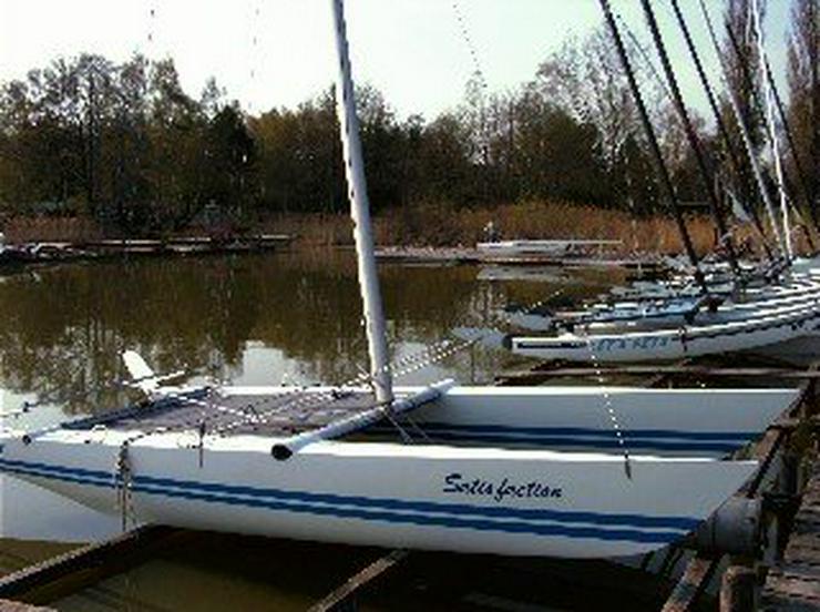 Bootsverleih Kielhorn / Steg N 21  Bootsliegeplätze am Steinhuder Meer in Mardorf ( Cat 2,75 m Box)  - Vermietung & Verleih - Bild 1