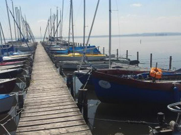 Bild 5: Bootsverleih Kielhorn / Steg N 21  Bootsliegeplätze am Steinhuder Meer in Mardorf ( Cat 2,75 m Box)