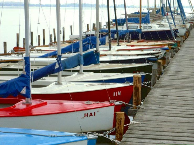 Bild 6: Bootsverleih Kielhorn / Steg N 21  Bootsliegeplätze am Steinhuder Meer in Mardorf ( Cat 2,75 m Box)