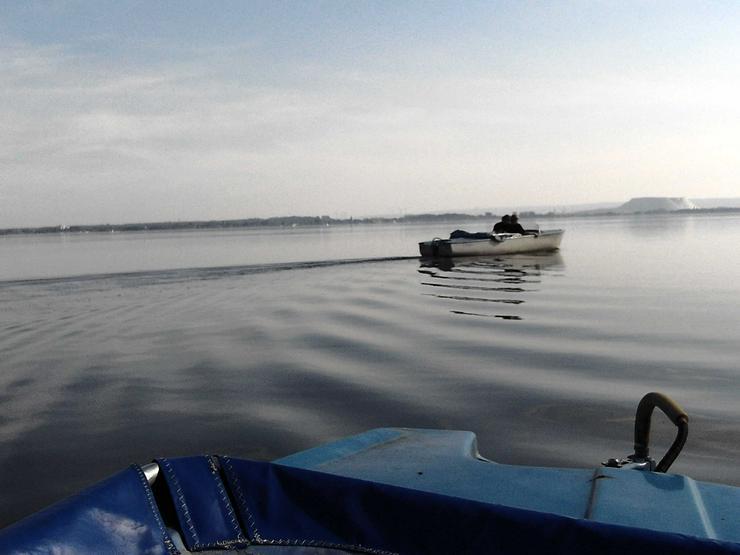 Bootsverleih Kielhorn Steg N 21 Geschenkgutschein 3 Std. Elektroboot fahren auf dem Steinhuder Meer