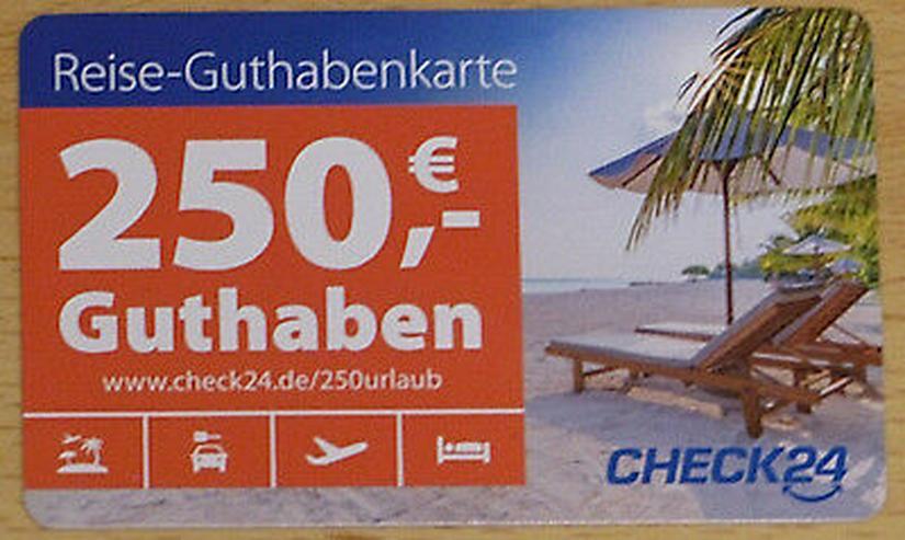 Check24 Reise-Guthabenkarte